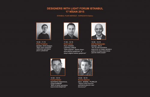 DESIGNERS WITH LIGHT FORUM 2015