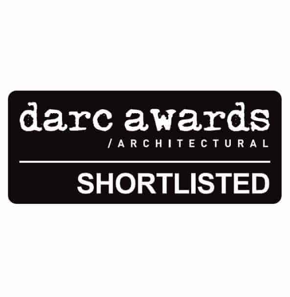 Shortlisted in Darc Awards Architectural 2017